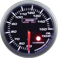 ProSport Gauge Oil Temperature - 52 mm - White