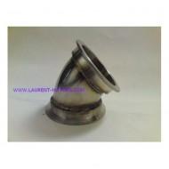 """Bend 3""""-76mm 45° V-band LMconcept"""