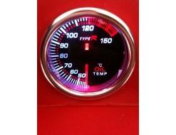 Manomètre fantôme pression turbo 52mm