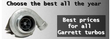Turbo Garrett au meilleur prix toute l'année