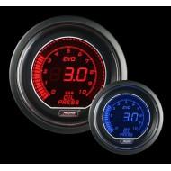 Pression Huile ProSport Manomètre 52mm - EVO - Bleu/Rouge