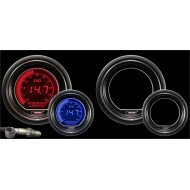 WIDEBAND Richesse Air Essence Prosport Manomètre 52mm avec Sonde Bosch LSU 4.9 - EVO - AFR - Bleu/Rouge
