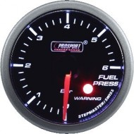 Pression Essence Prosport Manomètre avec WARNING - 52mm - Blanc