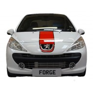 Intercooler frontal Forge pour Peugeot 207 rc