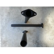 Wastegate downpipe 38mm