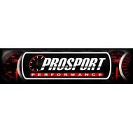 Pression Huile ProSport Manomètre 52mm - EVO - Blanc/vert