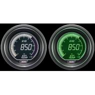 Prosport EVO gauge Exhaust Gaz Temperature 52mm - EVO - EGT White-Green