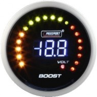 ProSport gauge turbo boost pressure 52mm - Blue/Red