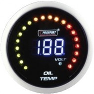 ProSport gauge oil temperature - 52 mm - LCD
