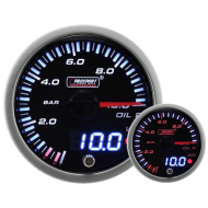 ProSport Gauge Oil Pressure - 52mm - LCD