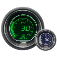 ProSport Gauge Oil Pressure - 52mm - EVO - White/green