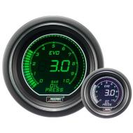 ProSport Manometer Öl Druck 52mm-Blau/Rot