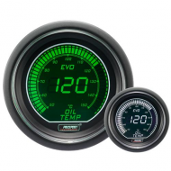 ProSport EVO gauge oil temperature - 52 mm - EVO - White-Green