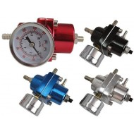Fuel pressure regulator adjustable