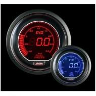 Pression Essence Prosport Manomètre - 52mm - EVO - Bleu/Rouge