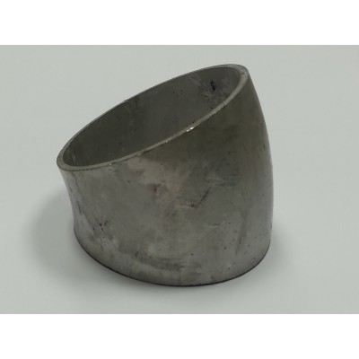 "Coude inox diamètre 2,5"" 30° 60mm"