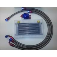 Kit radiateur d'huile avec délocalisation de filtre !