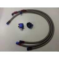 Kit for oil radiator with...