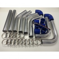 "Kit de tubes d'intercooler ALU 2.5"" 63mm"