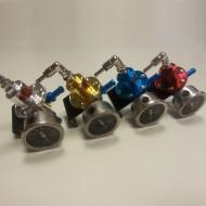 Pivot - SAR* Fuel Pressure Regulator /Fuel Regulator The black gauge with SARD brand Blue,silver,red,golden TK-FPR0518B