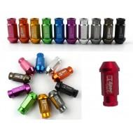 Lug nuts D1 Spec M12x1.25 ou M12x1.50  9 couleurs anodisées disponibles!