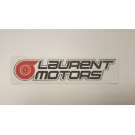Autocollant WWW.LAURENT-MOTORS.COM