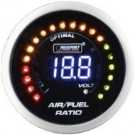 WIDEBAND Richesse Air Essence Prosport Manomètre 52mm avec Sonde Bosch LSU 4.9 - AFR - LCD