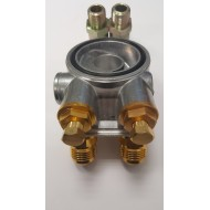 MOCAL sandwich plate with thermostat (for oil cooler)