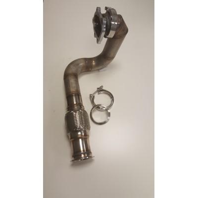 Descente d'échappement turbo pour moteur TU - PSA