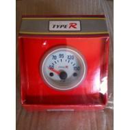 Manomètre gris clair température huile 52mm