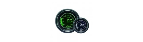 White/Green EVO ProSport Gauge