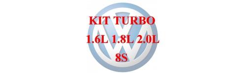 kit turbo VAG 1.6L - 1.8L 8S