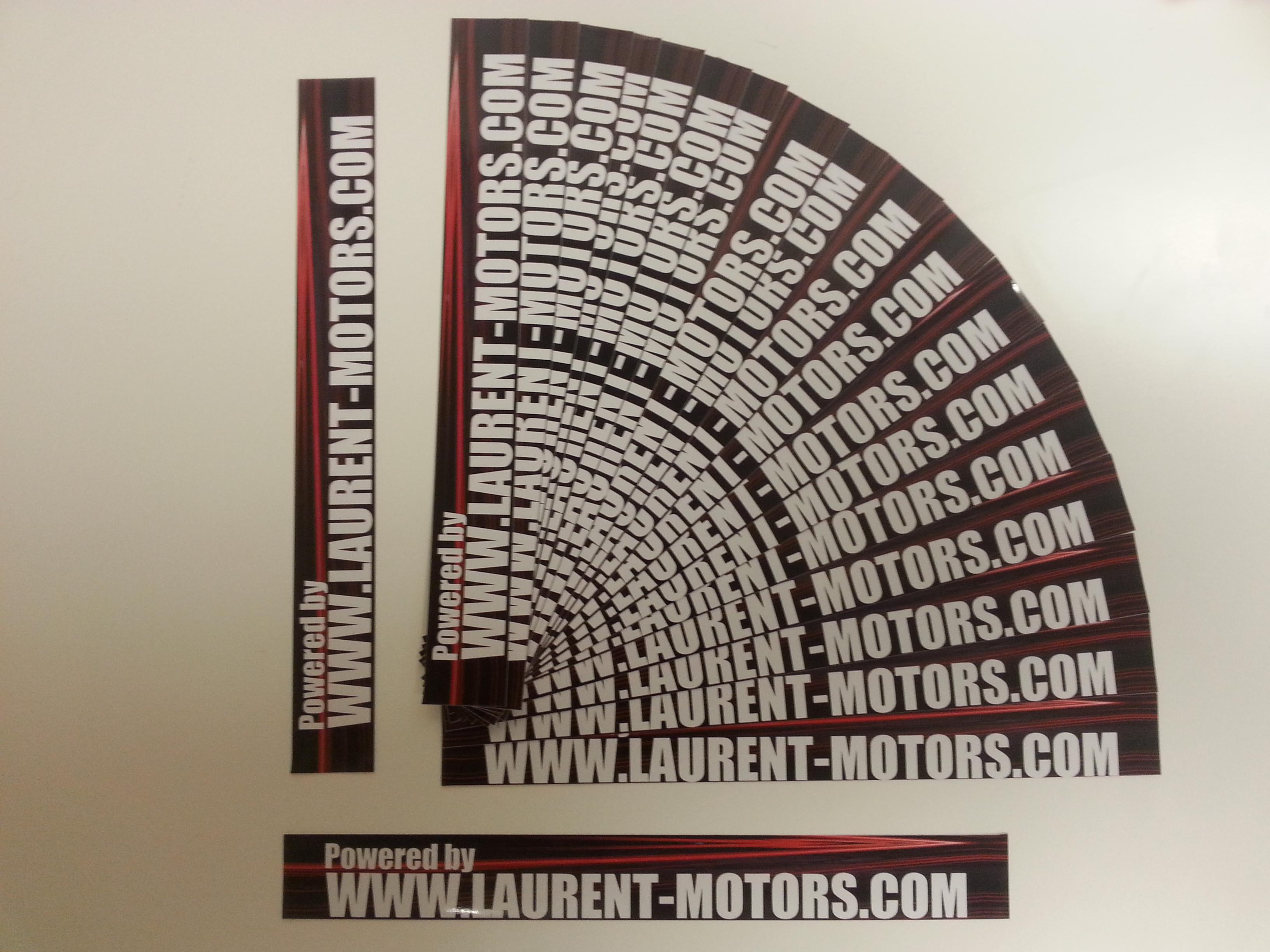 laurent-motors autocollant