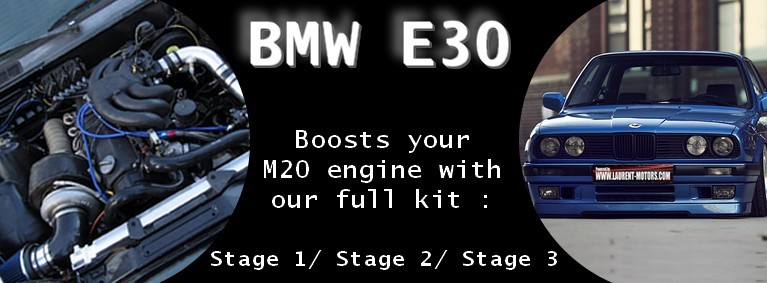 Boosts your M20 engine with our full turbo kit
